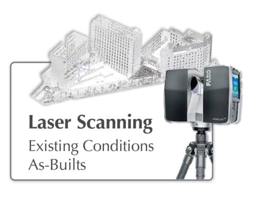 Laser Scan Field Measuring in New England
