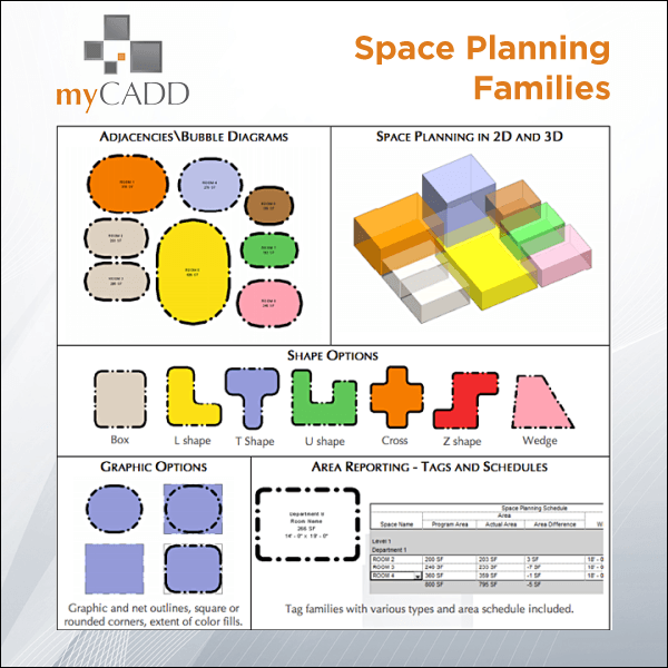 Revit Space Planning Collections - myCadd