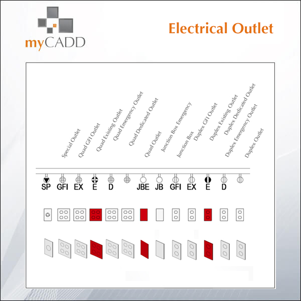 Free Revit Family Electrical Outlet  sc 1 st  myCadd & Download Revit Families - myCadd